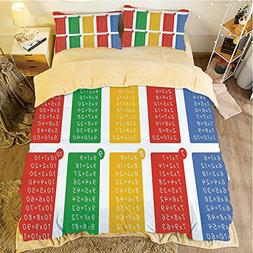Flannel 4 pieces on the bed Duvet Cover Set 3D printed for b
