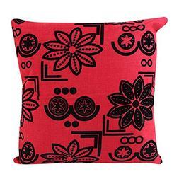 Flax Minimalist Body Pillowcase,HighpotFresh Style Design Sq