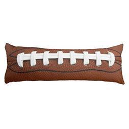 Koudjkd Football Design Body Pillowcase