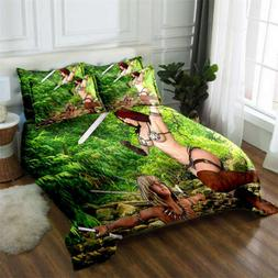 Forest Body Game 3D Printing Duvet Quilt Doona Covers Pillow