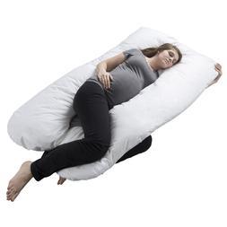 Full Body Maternity Contoured U Body Pillow Pregnancy Acid R
