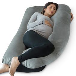 PharMeDoc Full Body Pillow, U Shaped Pregnancy Pillow + Supe