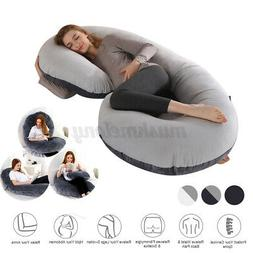 Full Body Pregnancy Pillow C-Shaped Maternity Cushion Suppor