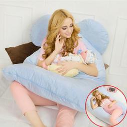 Full Body Pregnancy Pillow for Nursing Maternity Women U Sha