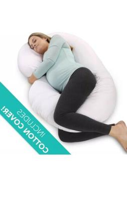 PharMeDoc Full Body Pregnancy Pillow - Maternity for Pregnan