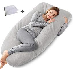 AngQi Full Pregnancy Pillow - Maternity Body Pillow for Preg