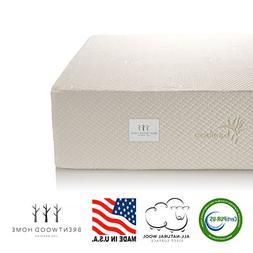 Brentwood Home Cypress Mattress, Greenguard Gold & CertiPUR