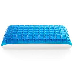 MoMA Gel Memory Foam Pillow - Reversible Cool Gel Pillow - S