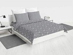 Geometric Toddler Bedding Sets Grid Style Checkered Squares