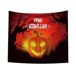 Halloween Tapestry by, Pumpkin Witch Tapestry 9375cm Room Be