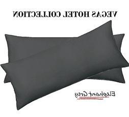 VEGAS HOTEL COLLECTION Heavy Egyptian Cotton 2-PC Pillow Cas