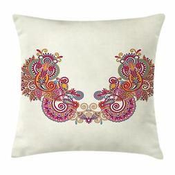 Henna Throw Pillow Cases Cushion Covers Home Decor 8 Sizes b