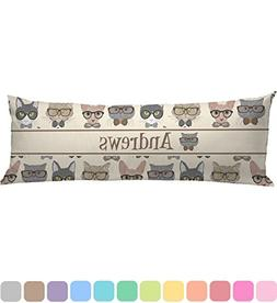 RNK Shops Hipster Cats Body Pillow Case