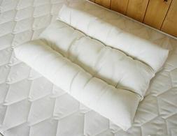 Holy Lamb Organic Cotton & Natural Wool Orthopedic Neck Pill