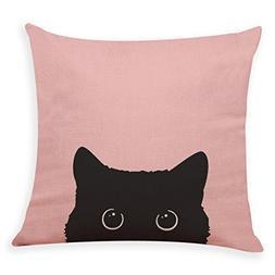 Iuhan Fashion Home Decor Cushion Cover Cute Dog Head Throw P