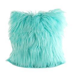FDelinK Home Decorative Super Soft Plush Mongolian Faux Fur