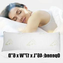 Hypoallergenic Aloe Vera Bamboo Memory Foam Full Body Pillow