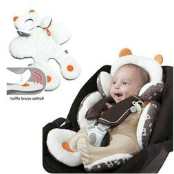 Infant Baby Car Seat Stroller Cushion Pad Liner Mat Head Bod