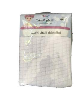 Inflatable Bath Pillow By Body Oasis - New In Package Bath &
