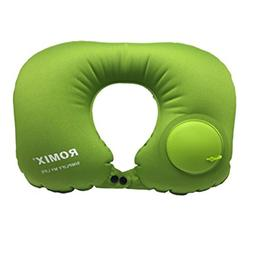 Jieyao Inflatable Travel Pillow for Airplanes U Shaped Pillo