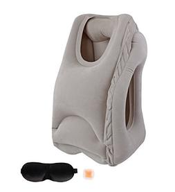 KepooMan Large Inflatable Travel Pillow Neck Air Pillow with