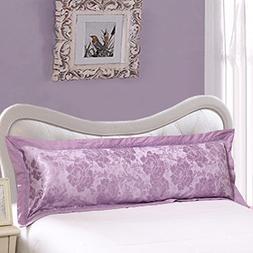 Zhiyuan Jacquard Cotton Body Pillowcase Long Pillow Cover, 1