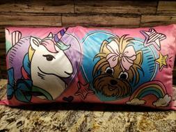 "Jojo Siwa Kids Body Pillow 18"" x 36"" Nickelodeon Girls Pink"