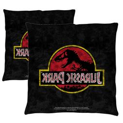 """Jurassic Park """"Classic Logo"""" Double Sided Throw or Body Pill"""