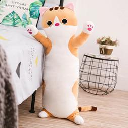 Kawaii Cute Cat Body Pillows for Kids or Teens