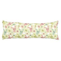 HL HLPPC Kawaii Green Pattern Polyester Cotton Body Pillow C