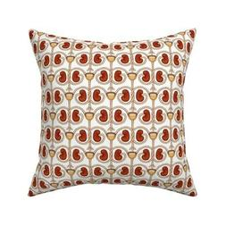 Kidney Biology Anatomy Body Throw Pillow Cover w Optional In