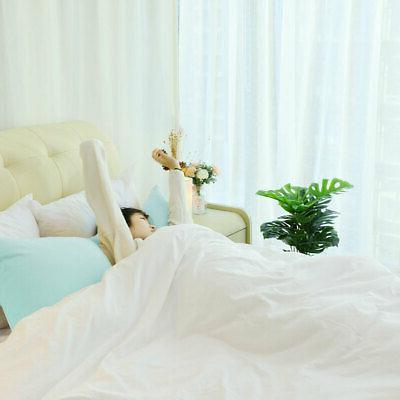 2PCS Body Covers Soft Microfiber Long Pillowcases Colors