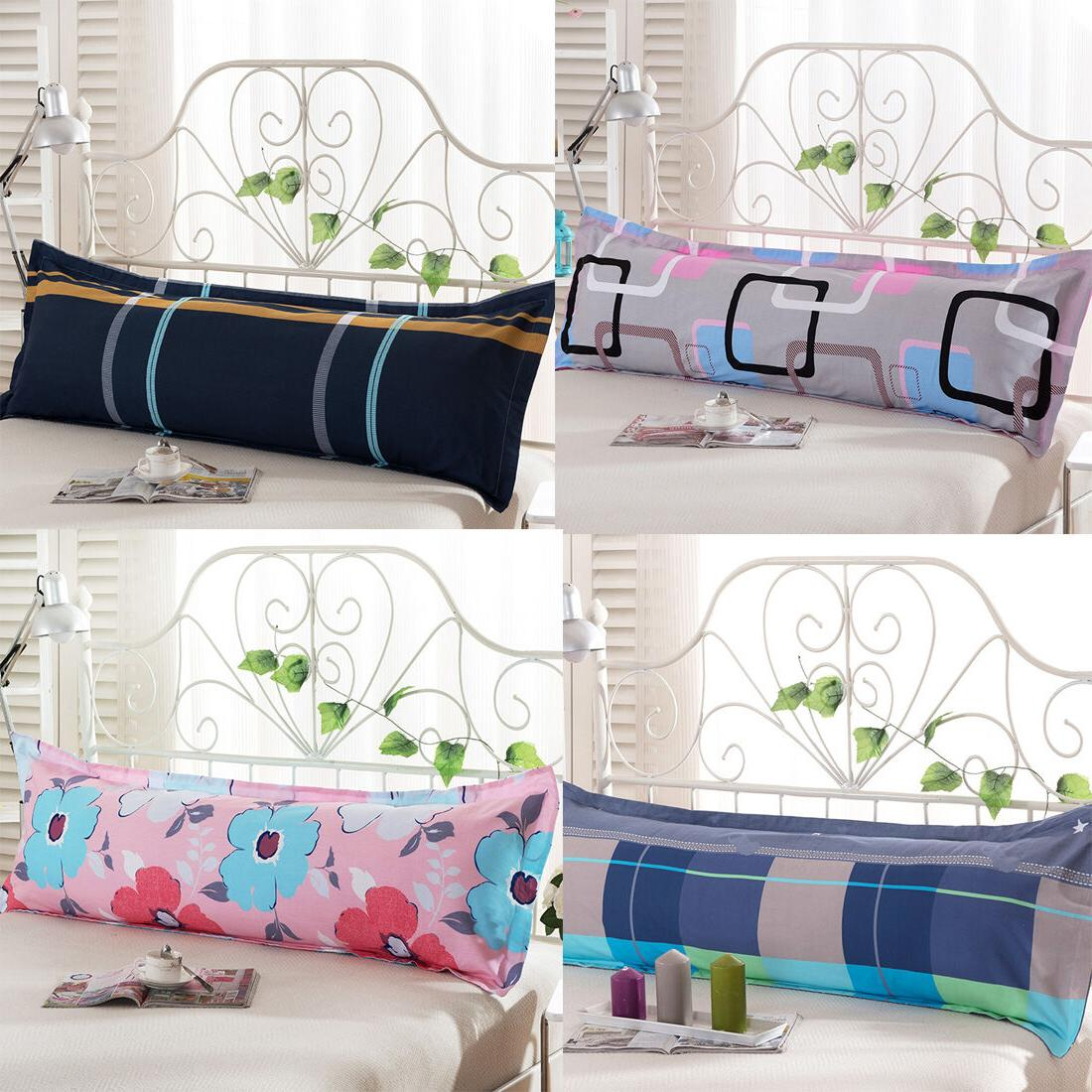 1X Fashion Bed Long Body Pillow Cover Protector Pillowcase 1
