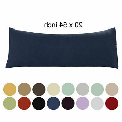 20x54 body pillow case soft 1800 series