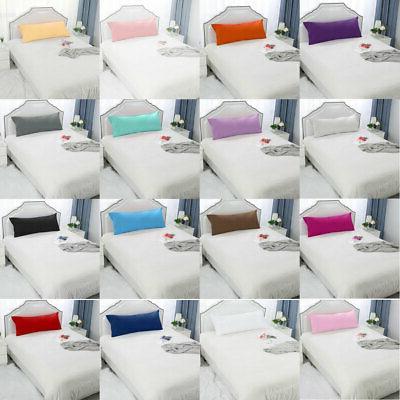 2pcs solid pillow case cover pillowcase standard