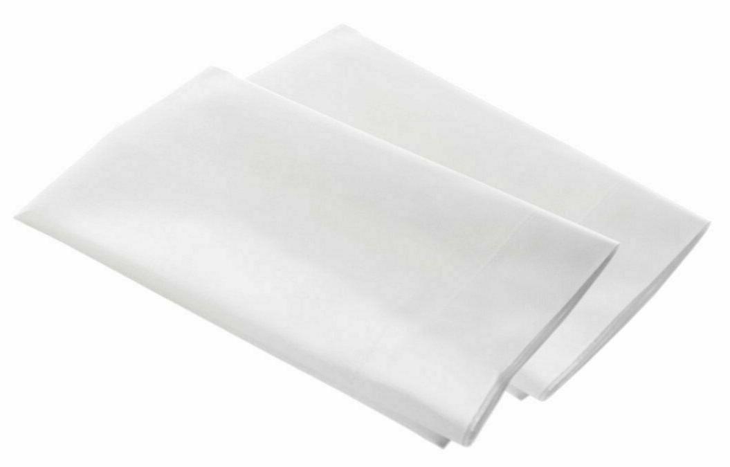 2X Body Pillow Cotton 21x60 White