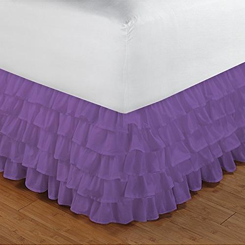 300tc egyptian cotton purple solid