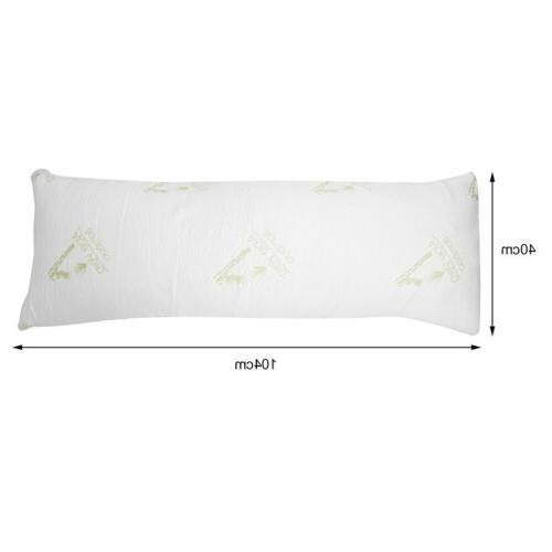"46"" Hypoallergenic Memory Pillow Adults Comfort EO"