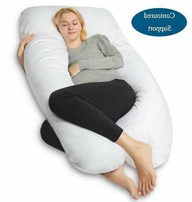 pregnancy pillow u shaped full body pillow