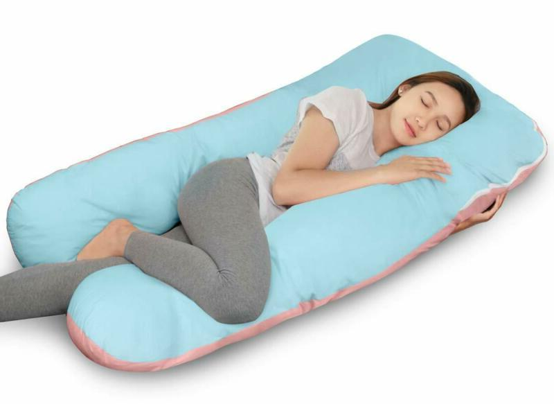 """Queen Rose 61"""" Pregnancy Pillow- Body Shaped Maternity Pillow For"""