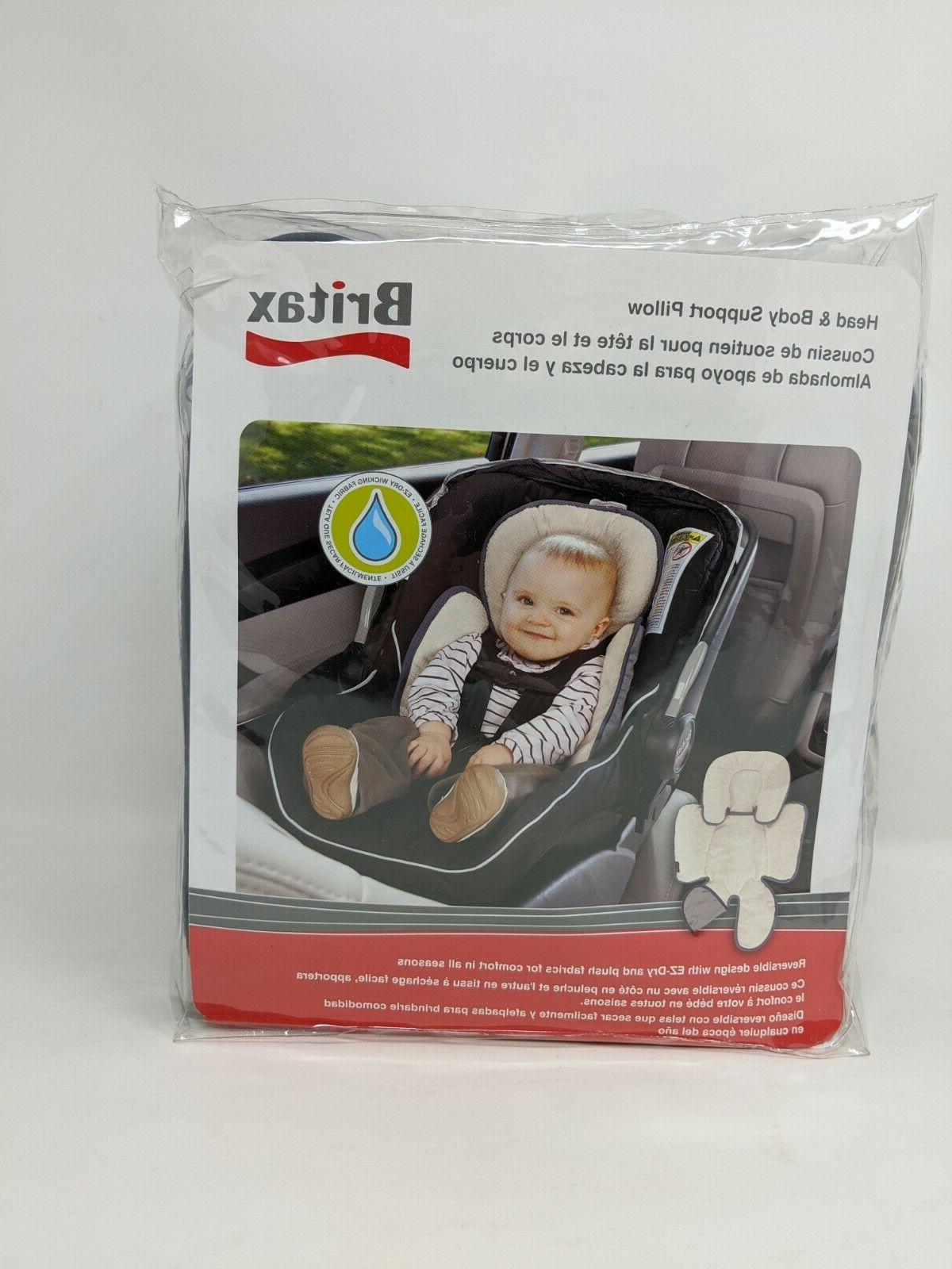 Britax Head and Body Support Pillow for Car Seats and Stroll