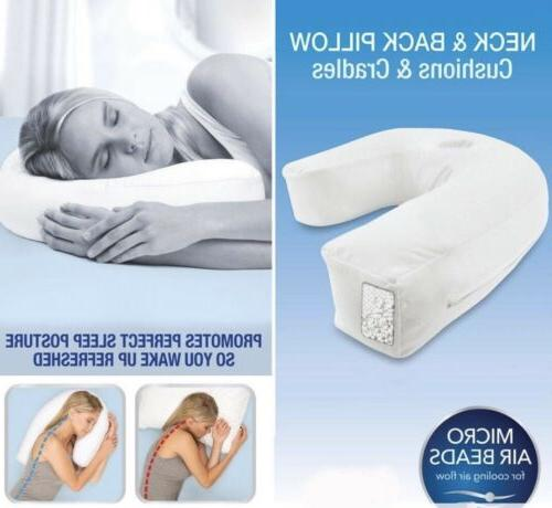 Contour Pillow Great for Sleeping on your Side for Neck, Sho