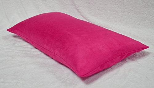 Creative Luxury Faux Suede Body Pillow Cover with Hidden Zip