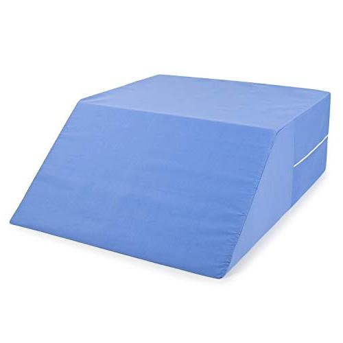 """DMI Elevated Foam Elevating Legs, Reducing Pain, Surgery Recovery, Blue, 8"""" x 20"""" x"""