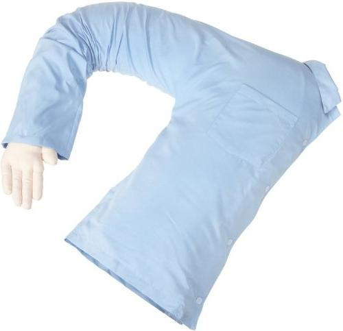 Deluxe Boyfriend Body Pillow Blue And – For Women Perfect Companion Pillow Singles Pillow – - With Gag