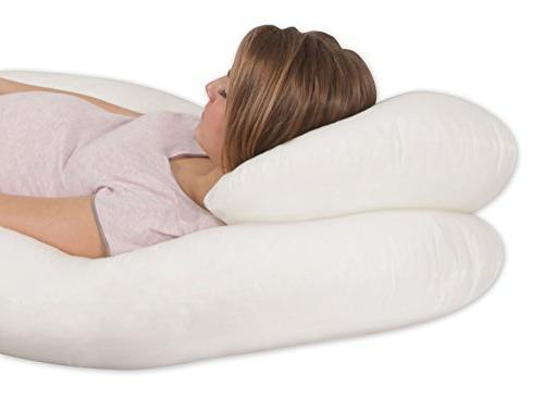 Leachco 'N Pregnancy/Maternity Pillow, Ivory