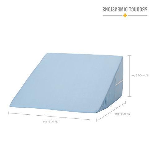Mabis 802-8028-0100 DMI Foam Bed Wedge, Head Help Like Neck and Pain, Back Varicose Veins, 1, Blue