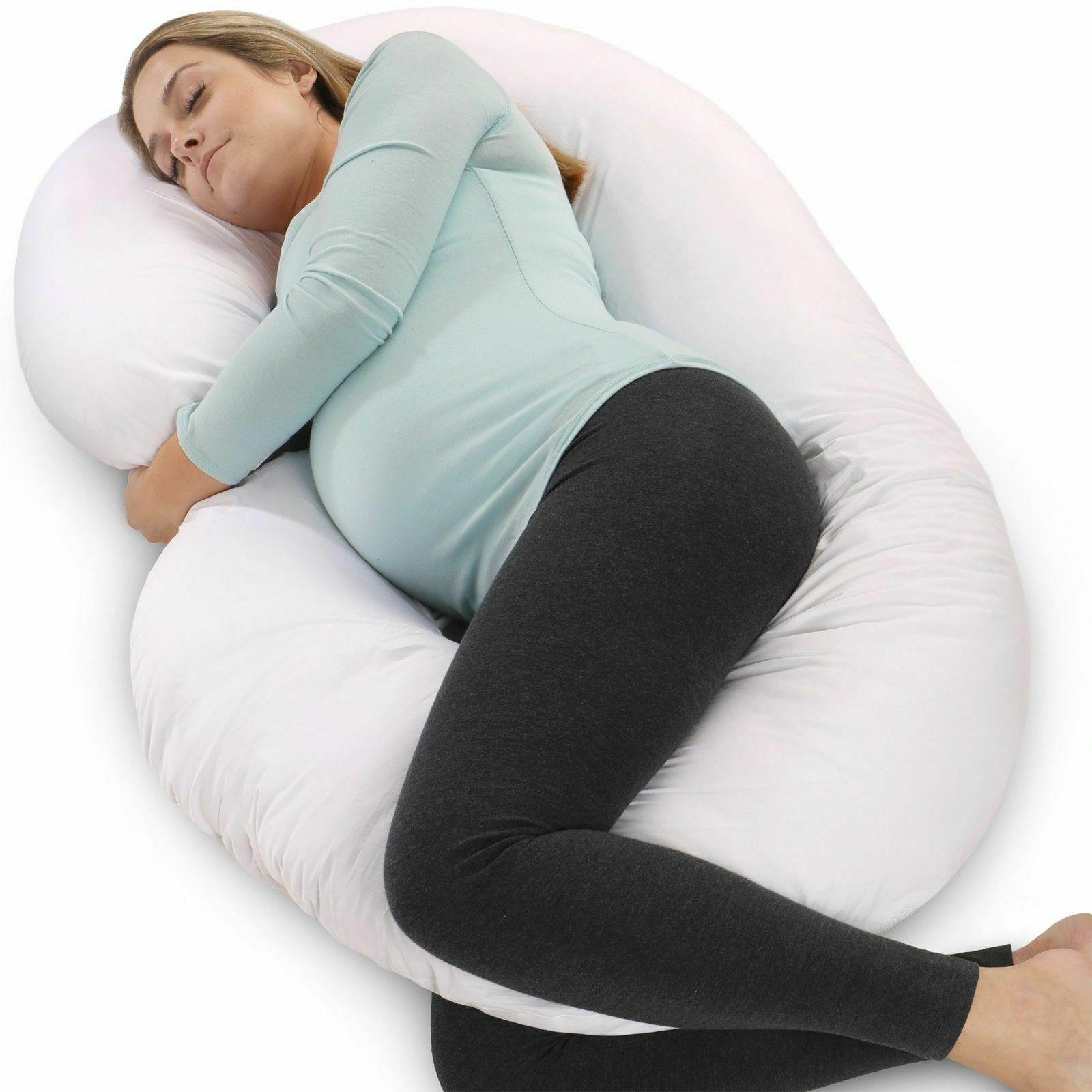 PharMeDoc Full Body Pregnancy Pillow - Maternity Pillow for