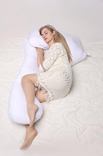 Pregnancy Pillow Body Pillow for Maternity & Luxurious Full for Resting or on Back, Any Natural Position for & Back Pain, Sciatica