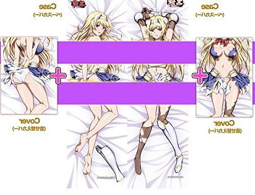 [a1c]『Kuroinu』 Princess Arishia Japanese anime Body Pillowcase【separate